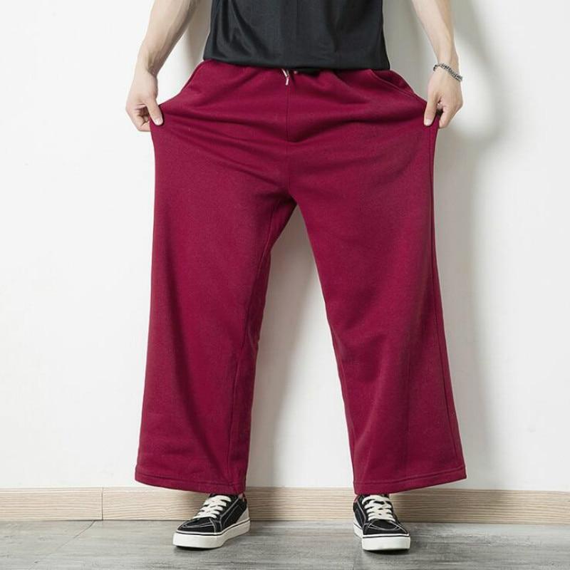 Bundle-Pants Wind-Tight Loose Winter Brand Autumn Tide Haha Models Solid-Color