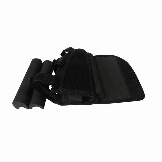 Tourbon Hunting Gun Accessories Tactical Left-Hand Shooting Butt Stock Rifle Cheek Rest Shell Pouch Safety Black Pad 5