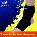 Free shipping black 2pcs/1pair tourmaline Therapy ankle brace heating Protection Spontaneous back belt sports leg corrector