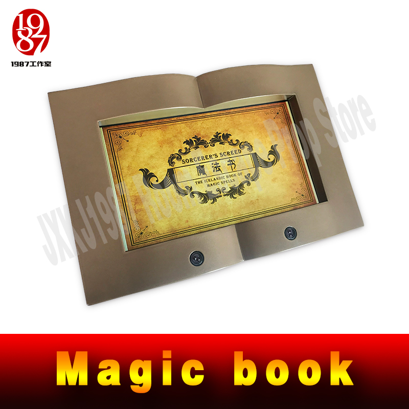 JXKJ1987 real life room escape prop TAKAGISM game magic book to simulate the page flipping motion by hand to get some cluesJXKJ1987 real life room escape prop TAKAGISM game magic book to simulate the page flipping motion by hand to get some clues