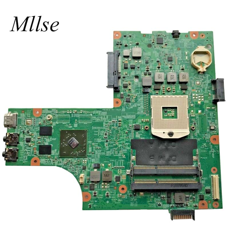 Free Shipping CN-0VX53T 0VX53T VX53T Mainboard For <font><b>Dell</b></font> inspiron <font><b>N5010</b></font> Laptop <font><b>Motherboard</b></font> 48.4HH01.011 HM57 HD 5470 DDR3 image
