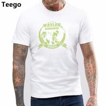 T Shirt Hot Topic Men Short Sleeve Authentic Waylon Jennings The Original  Outlaw Photo Slim- c33944773a8a