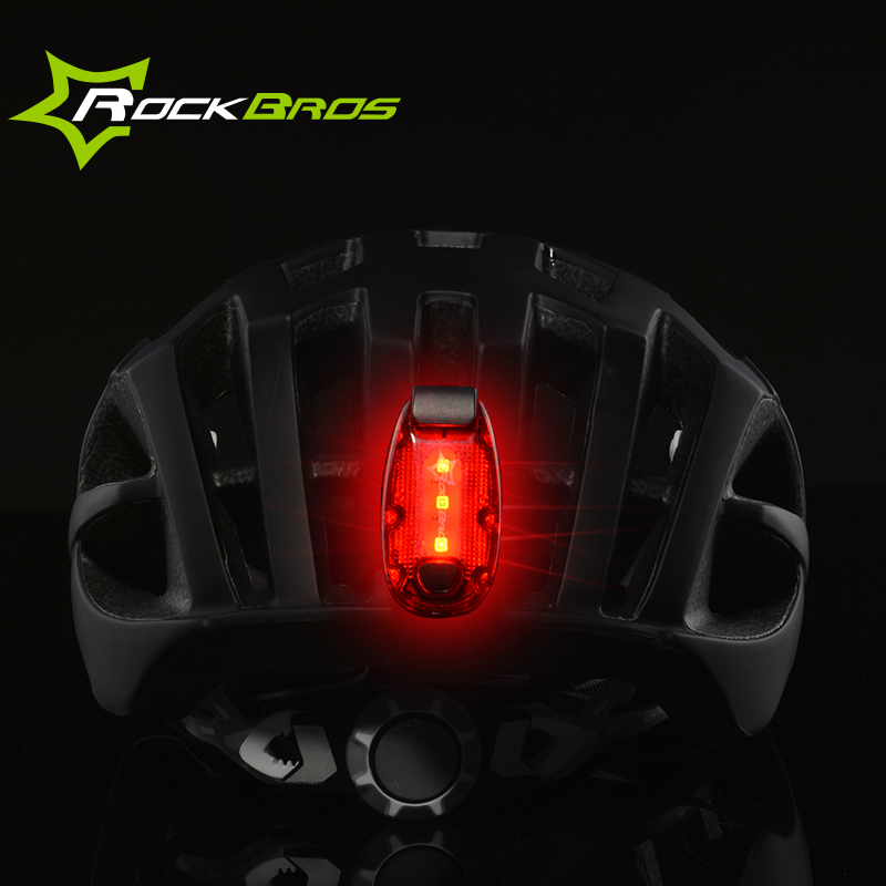 ROCKBROS Flash LED Cycling Walk Run Warning Safety Clip Light Night Riding Warning Bike Light Multifunction Outdoor Sports Light противоскользящие полоски safety walk цвет серый 6 шт