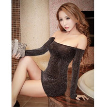 sexy lingerie hot costumes sexy dress underwear gauze erotic lingerie sleepwear sex toys women nightclub short tight slim dress