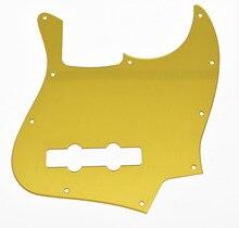 Gold Mirror JB Jazz J Bass Pickguard Scratch Plate
