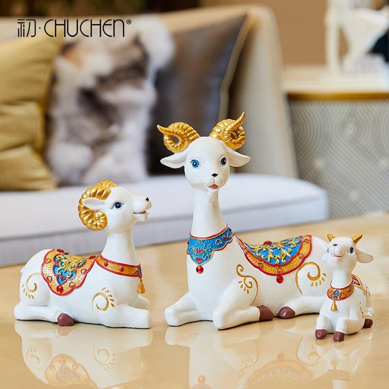 Mouton décoration maison décoration Feng Shui meuble Tv bureau affichage maison décoration accessoires