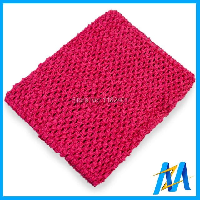 Wholesale Baby 6inch Crochet Tube Top Girls Crochet Tutu Tube Tops