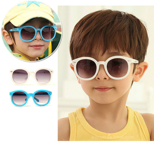 54731b0216 2015 New Korean fashion cute meter nail children s glasses tide boys and  girls baby sunglasses UV sunglasses