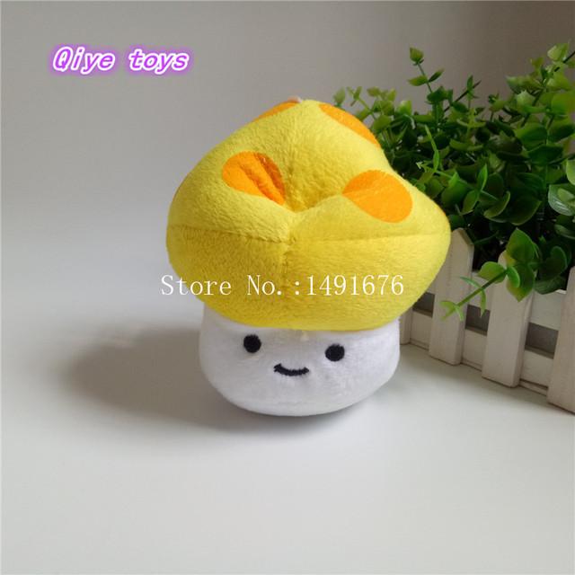 Cute Plant Vs Zombies Series Plant Yellow Sun Mushrooms Plush Toy Doll
