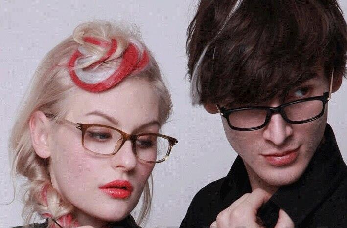 0cbddc058f9 Fashion designer prescription eyewear optical frames Eyeglasses metal  myopia glasses frame MEN women spectacle Oculos grau 704-in Eyewear Frames  from ...