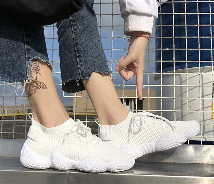 Women Vulcanized Mesh Sneakers 6