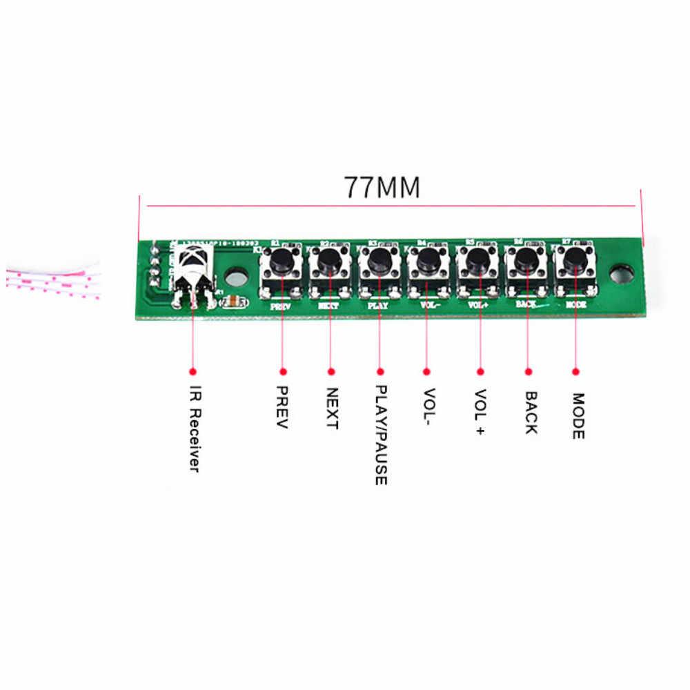Tenghong 4,3 дюймов lcd MP3 декодер плата без потерь Bluetooth декодер плата DTS FLAC APE ACC WAV DDR MP3 декодирующий модуль DC9-12V