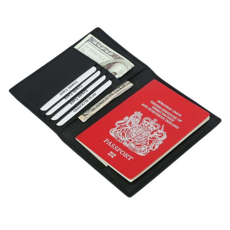 Explosion Creative Doodle Sticker Multi-purpose Travel Passport Set With Storage Bag Leather Passport Holder Passport Holder With Passport Holder Travel Wallet