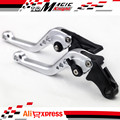 For HONDA CB300F CB500F CB500X 13-15 Motorcycle Accessories CNC Billet Aluminum Short Brake Clutch Levers Silver