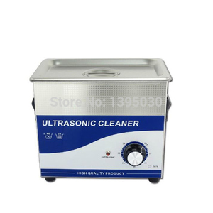 Ultrasonic cleaner with dual p