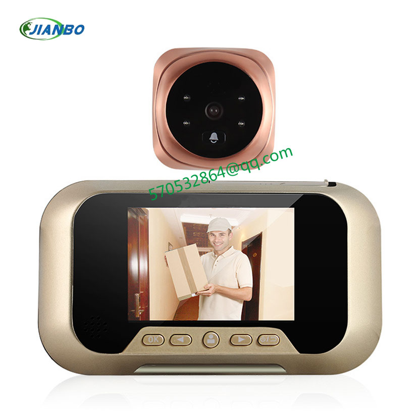 Intelligent electronic cat doorbell wireless video surveillance camera high-definition imaging sensors visual Cat's Eye samkoon display and control hmi touch screen sk 035ae 3 5 color tft new