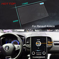 7 Pulgadas de Navegación GPS de Pantalla de Control de Pantalla LCD Película Protectora Para Renault Koleos Acero Styling Car Sticker
