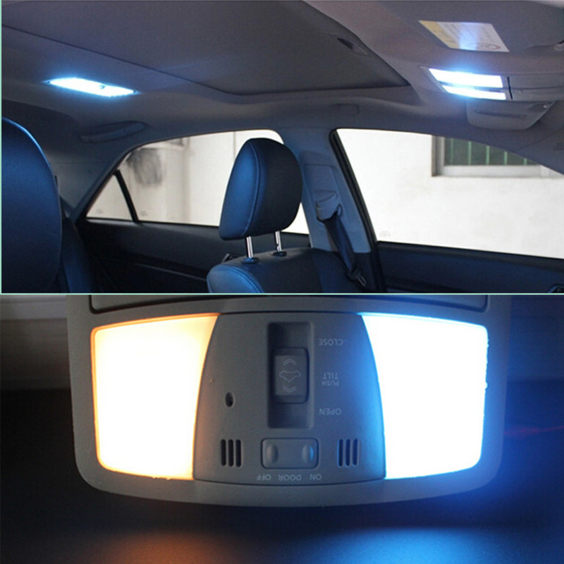 6pcs Parking Led Interior Light Bar Kit For Toyota Corolla 2003 2008 2009 2010 2011 2012 2013