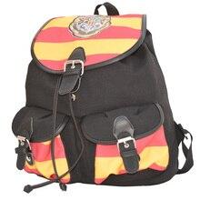 Ecoparty Печати Stripped Холст Мультфильм откидной крышкой карманы Детей Школьные сумки Рюкзаки