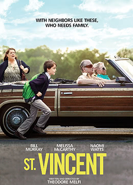 《圣人文森特》2014年美国剧情,喜剧电影在线观看