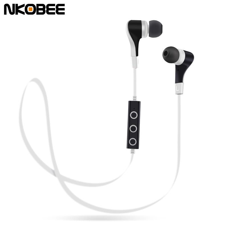 Stereo Bass Bluetooth Earphones Wireless Sports Earphones aptx Headset with MIC for iphone 6 7 Earphones Sport Running Bluetooth