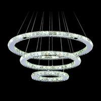 Fashion Diy LED Pendant Light Crystal Led Suspension Light Fixture Free Shipping MD8825 D600mm