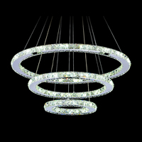Fashion Diy LED Pendant Light Crystal Led Suspension Light Fixture Free Shipping MD8825 D600mm