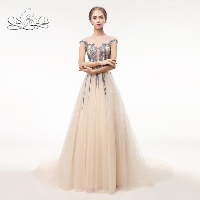 Tulle Formal Dresses with Sleeves