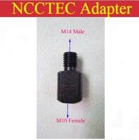 Адаптер NCCTEC  винтовая нить M14  наружный thread-M10  внутренний редуктор для угловой шлифовки