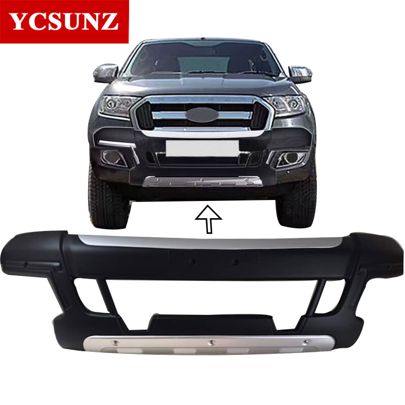 front body kits for ford ranger 2017 wildtrak accessories front bumper for ford ranger 2016 2018. Black Bedroom Furniture Sets. Home Design Ideas