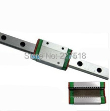 Miniature MGN15 400mm 15mm linear slide : 1pc MGN15 L-400mm + 2pcs MGN15C carriage for CNC X Y Z Axis 3d printer part