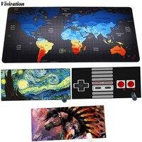 World Map Gaming Mouse Pad Viviration Fashion Latest 900 X 400 Mm Large Size Mouse Mat
