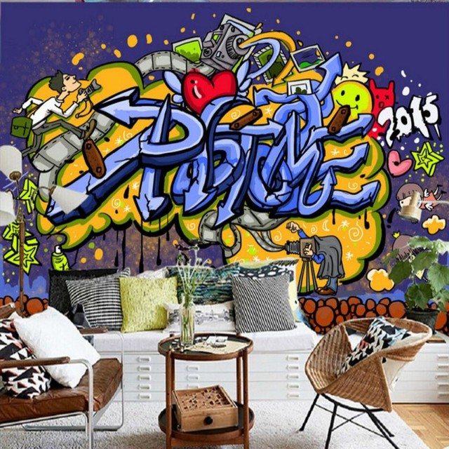 custom 3d wallpaper custom modern graffiti decoration backgroundcustom 3d wallpaper custom modern graffiti decoration background wall mural restaurant studio bar ktv gaming room