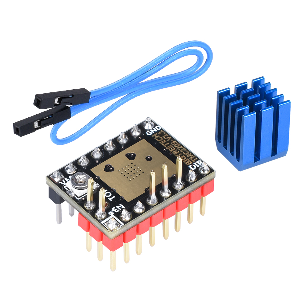 Image 5 - BIGTREETECH SKR PRO V1.1 With TFT35 V2.0 Touch Screen TMC2208 UART TMC2209 TMC2130 Driver 6PCS 3D Printer Board Kit VS SKR V1.3-in 3D Printer Parts & Accessories from Computer & Office