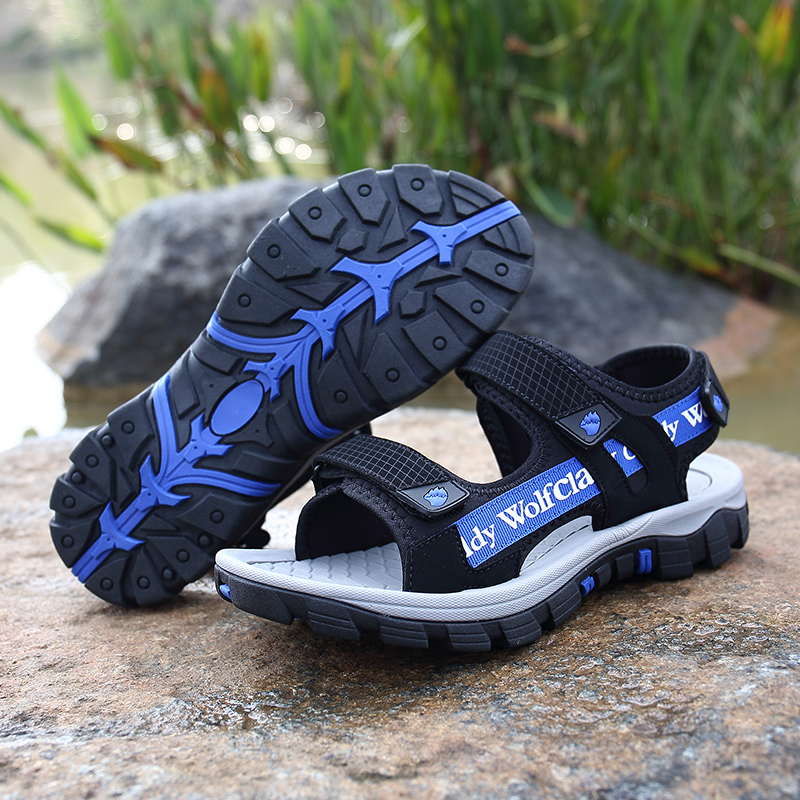 Summer Sandals Water Shoes Boys Girls Outdoor Shoes Beach Sandals Men Women Beach Sport Sneakers Blue Green Shoes Water
