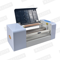 AMD 360A foil press machine digital hot foil stamping printer machine for color business card printing