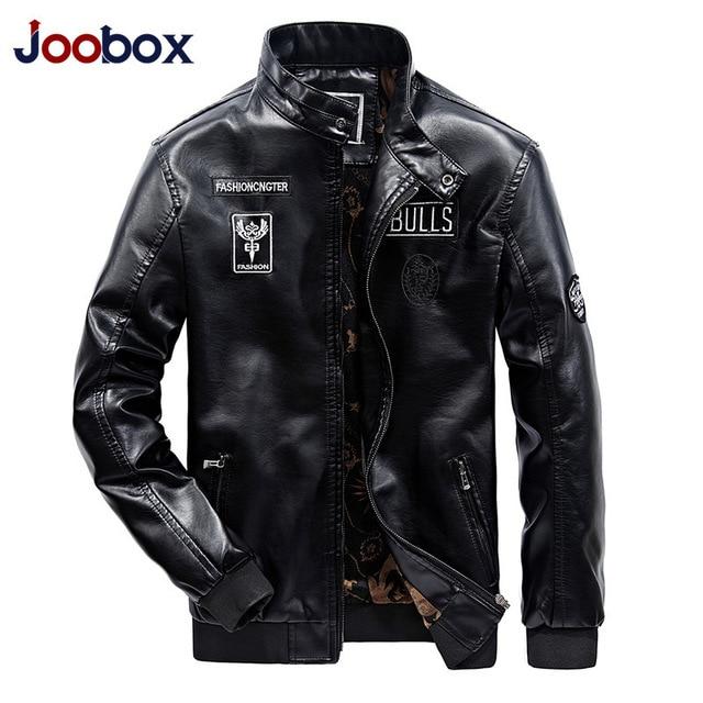 Winter Casual Leather Jaket Men Deri Mont Erkek Faux Jackets Slim Fit Coats Men Baseball Uniform Jaqueta De Couro Masculina 2