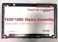 15,6 дюймов для Ideapad Y700 Y700 15 1920*1080 30pin touch ЖК дисплей в сборе с рамкой LP156WF6 SPK1