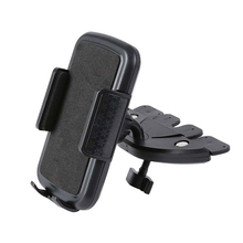 Universal Car CD Slot Fixed Lock Mobile Phone Holder Mount Stand For GPS Tablet  fits devices with width up to 3.7inch