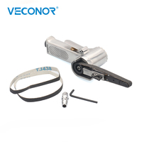 Veconor air belt sander pneumatic sanding machine polishing grinding die casting Tools 10x330mm sanding pad