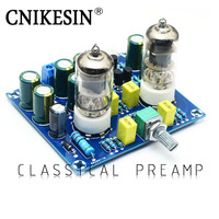 CNKESIN DIY Kits Fever Class 6J1 Electron Tube Front Amplifier Tube Amp Front Buffer Effect Device
