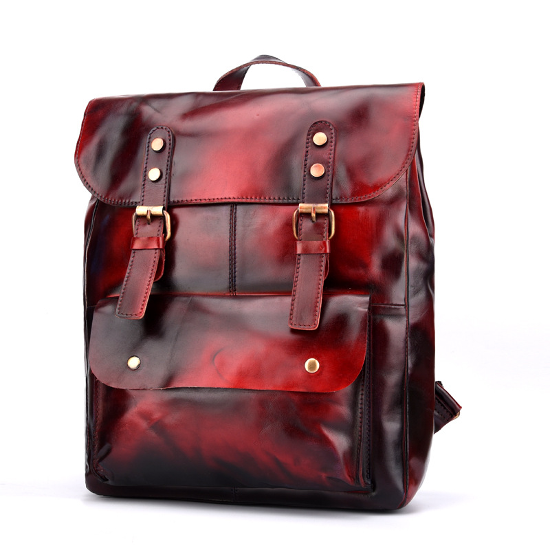 New Brand Designer Shoulder Bags For Girls Fashion Women Backpack With String Genuine Leather Backpack Female High Quality недорго, оригинальная цена
