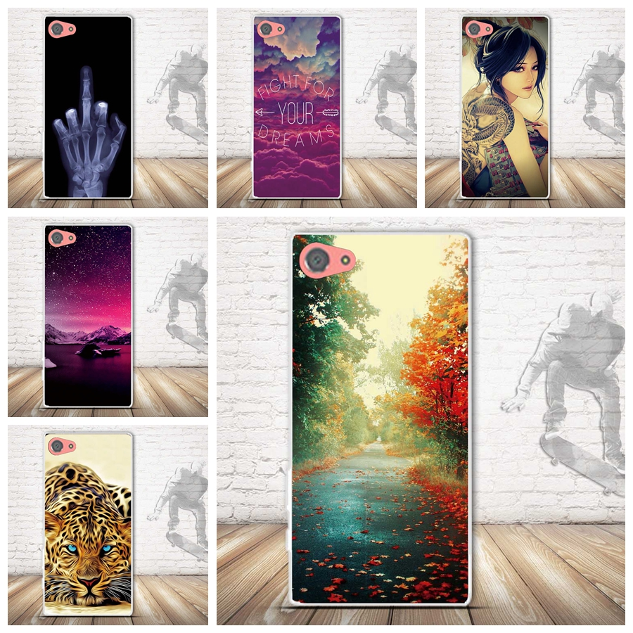 3D Painting Skin Silicon Case for Sony X