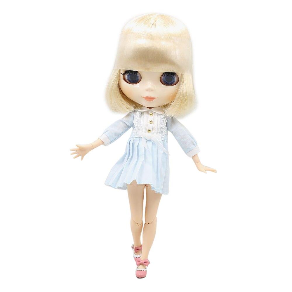 blyth doll white skin Golden hair 130BL0519 joint body 1 6 doll nude
