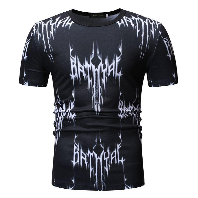 T Shirts For Men Short sleeve Black Men T Shirts Summer Tops Tees O Neck Loose Men 39 s Clothing Camisa masculina Hip hop in T Shirts from Men 39 s Clothing