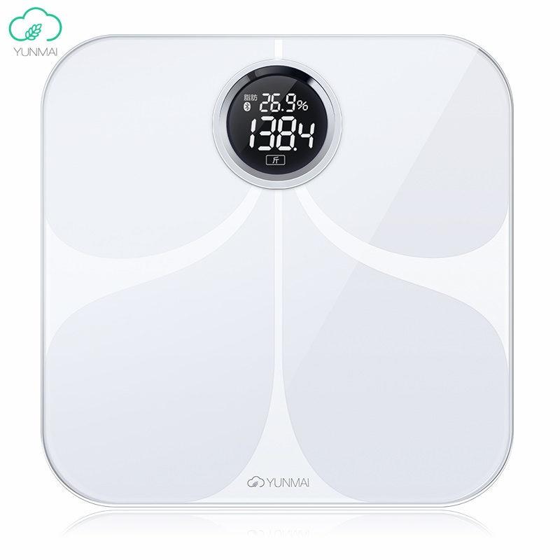 International Version Yunmai Premium Smart Weight Scale 10 Body Date Healty Digital Big Scales English APP Analyze Loss Weight