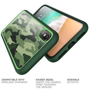 Image 4 - SUPCASE For iphone X XS 케이스 UB 스타일 프리미엄 하이브리드 보호 케이스 TPU 범퍼 + iphone X Xs 5.8 인치 용 뒷면 커버 (Camo/Green)