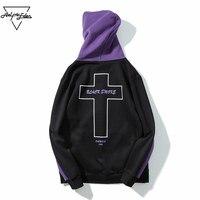 Aelfric Eden Hoodie Jacket Men S Christmas Gift Black Smoke Letter Print Sweatshirt Men Hip Hop