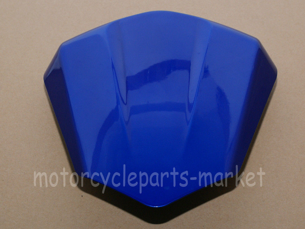 Blue Motorcycle Rear Seat Cover Cowl case for Yamaha YZF600 R6 2006-2007