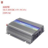 MAYLAR@ 600W Solar On Grid Tie Inverter,input10.5 28VDC,Output 220V/230V/240VAC,50Hz/60Hz,For Solar Home System